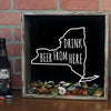 Torched Products Shadow Box New York Drink Beer From Here Beer Cap Shadow Box (781182500981)