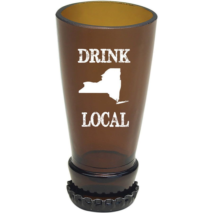 Torched Products Barware New York Drink Local Beer Bottle Shot Glass (4507016003633)