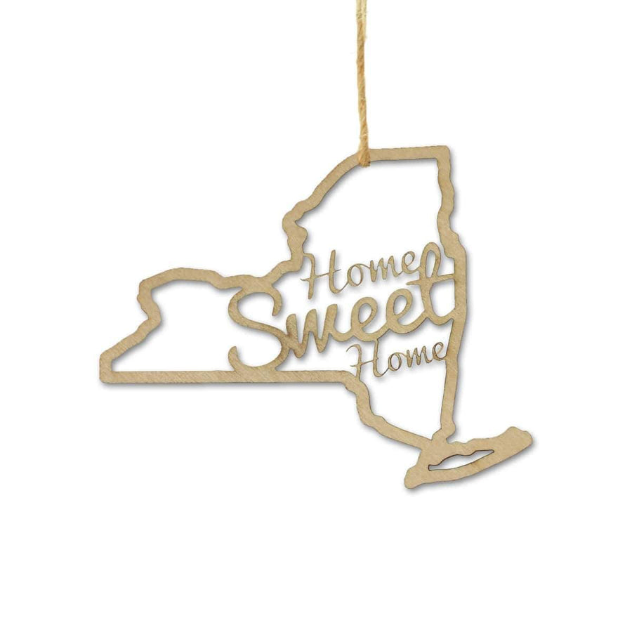 Torched Products Ornaments New York Home Sweet Home Ornaments