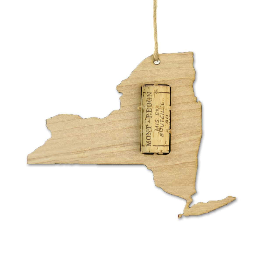 Torched Products Wine Cork Holder New York Wine Cork Holder Ornaments