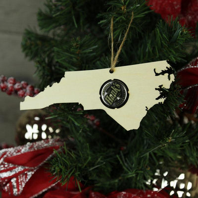 Torched Products Beer Cap Maps North Carolina Beer Cap Map Ornaments
