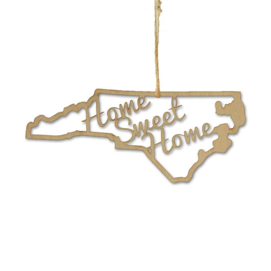 Torched Products Ornaments North Carolina Home Sweet Home Ornaments