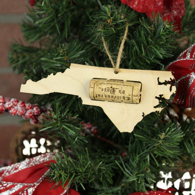 Torched Products Wine Cork Holder North Carolina Wine Cork Holder Ornaments