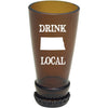 Torched Products Barware North Dakota Drink Local Beer Bottle Shot Glass