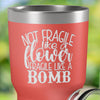 Torched Products Not Fragile Like a Flower Laser Engraved Tumbler