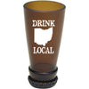 Torched Products Barware Ohio Drink Local Beer Bottle Shot Glass (4507016134705)