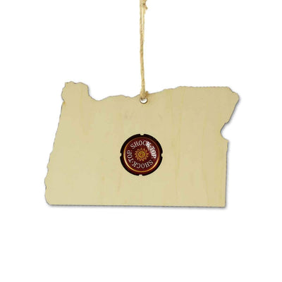 Torched Products Ornaments Oregon Beer Cap Map Ornaments (781573619829)