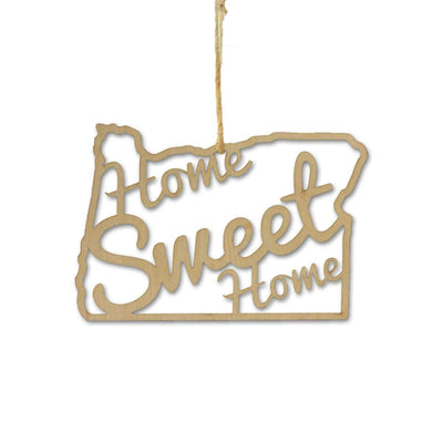 Torched Products Ornaments Oregon Home Sweet Home Ornaments