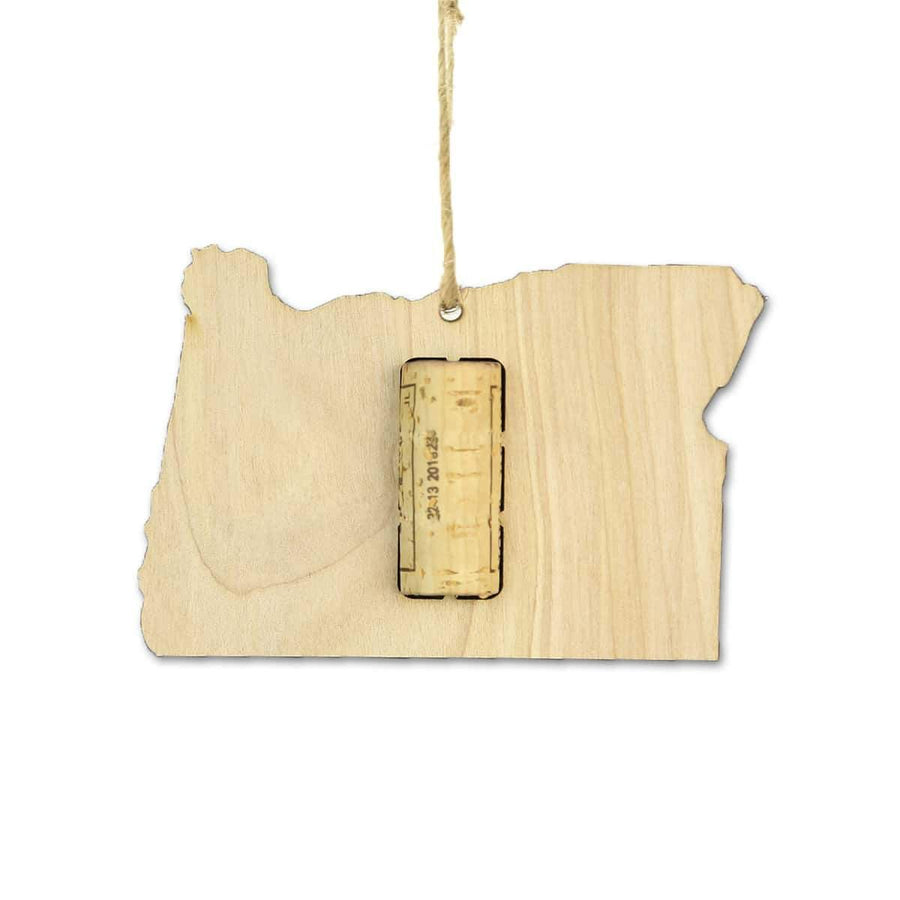 Torched Products Wine Cork Holder Oregon Wine Cork Holder Ornaments (781204553845)