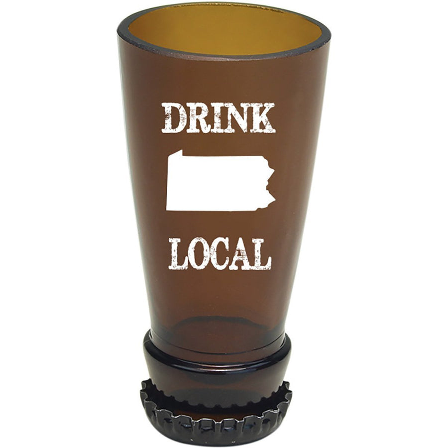 Torched Products Barware Pennsylvania Drink Local Beer Bottle Shot Glass (4507016233009)