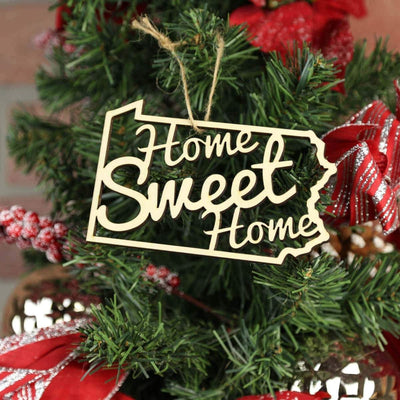 Torched Products Ornaments Pennsylvania Home Sweet Home Ornaments