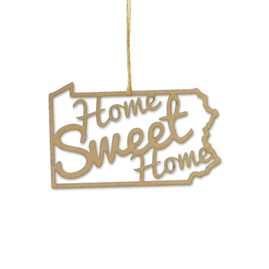 Torched Products Ornaments Pennsylvania Home Sweet Home Ornaments (781221527669)