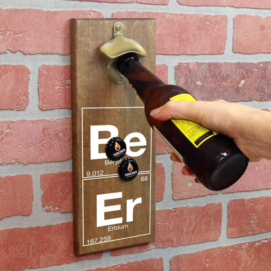 Torched Products Bottle Opener Periodic Elements of Beer Bottle Opener