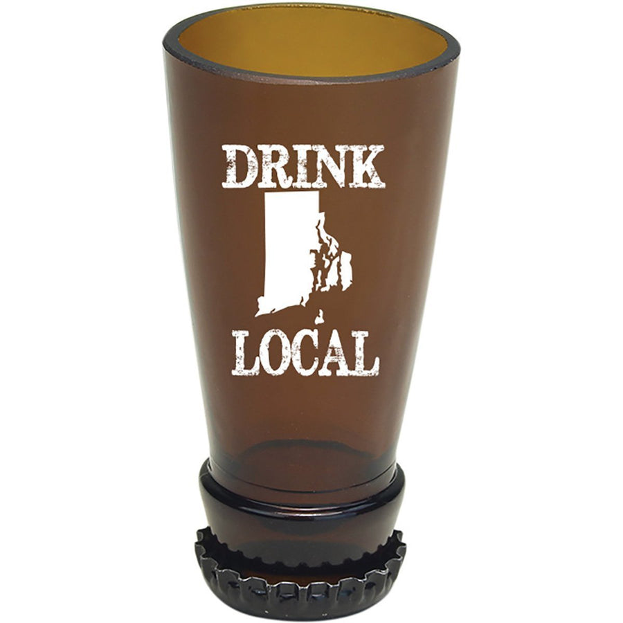 Torched Products Barware Rhode Island Drink Local Beer Bottle Shot Glass