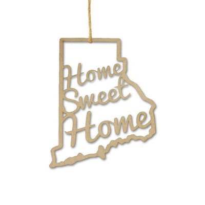 Torched Products Ornaments Rhode Island Home Sweet Home Ornaments
