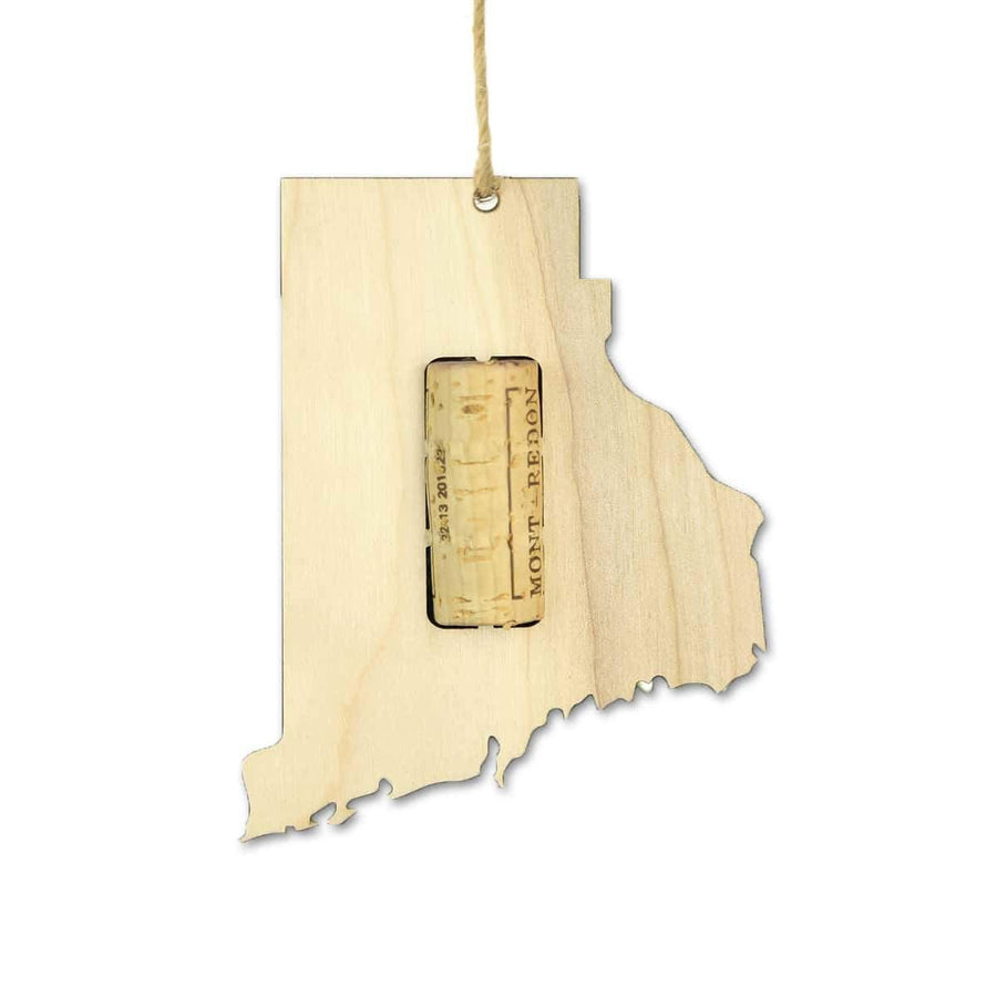 Torched Products Wine Cork Holder Rhode Island Wine Cork Holder Ornaments