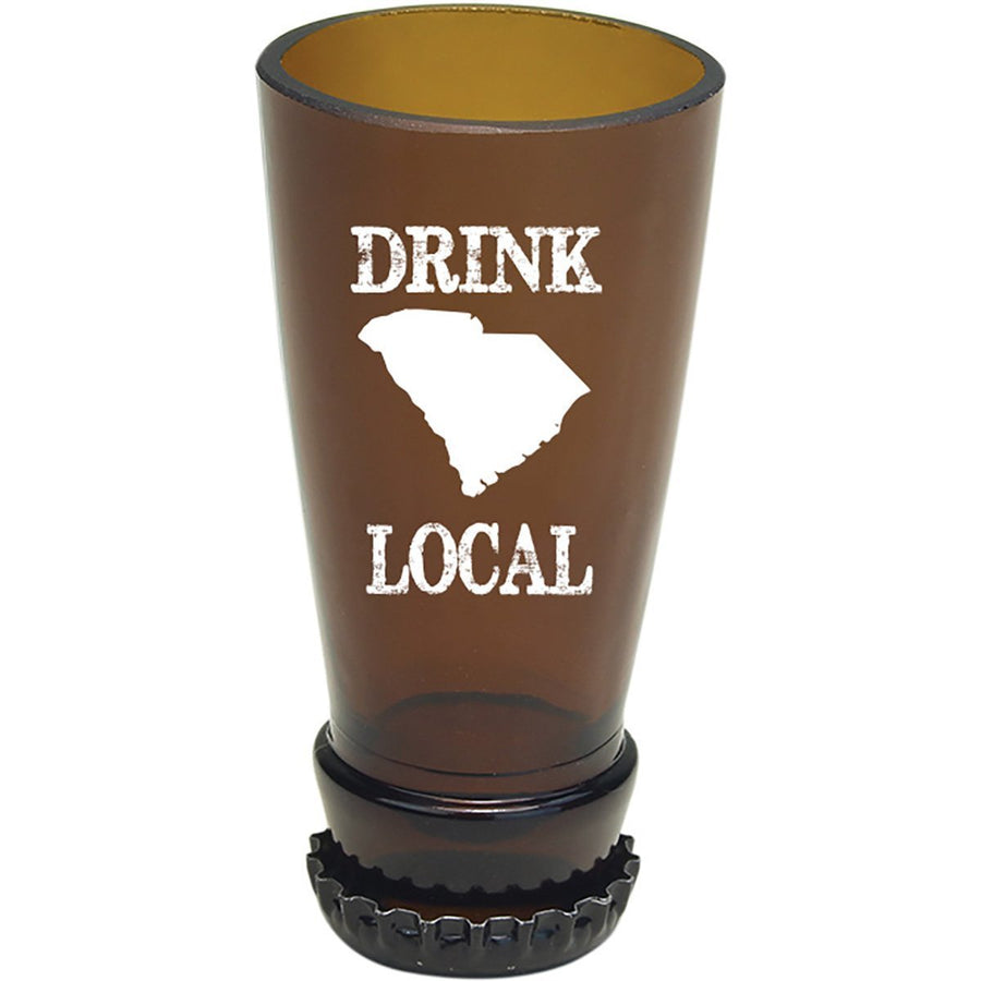 Torched Products Barware South Carolina Drink Local Beer Bottle Shot Glass