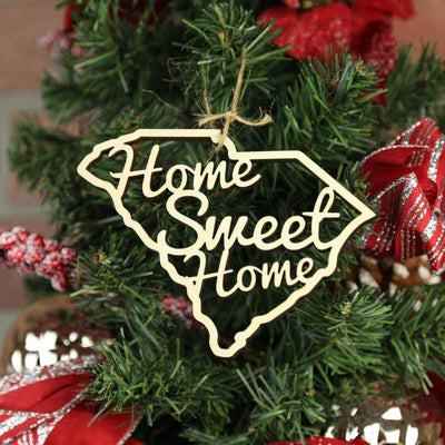 Torched Products Ornaments South Carolina Home Sweet Home Ornaments