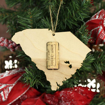 Torched Products Wine Cork Holder South Carolina Wine Cork Holder Ornaments