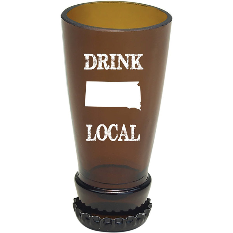 Torched Products Barware South Dakota Drink Local Beer Bottle Shot Glass (4507016331313)