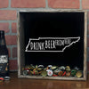 Torched Products Shadow Box Tennessee Drink Beer From Here Beer Cap Shadow Box (781184499829)