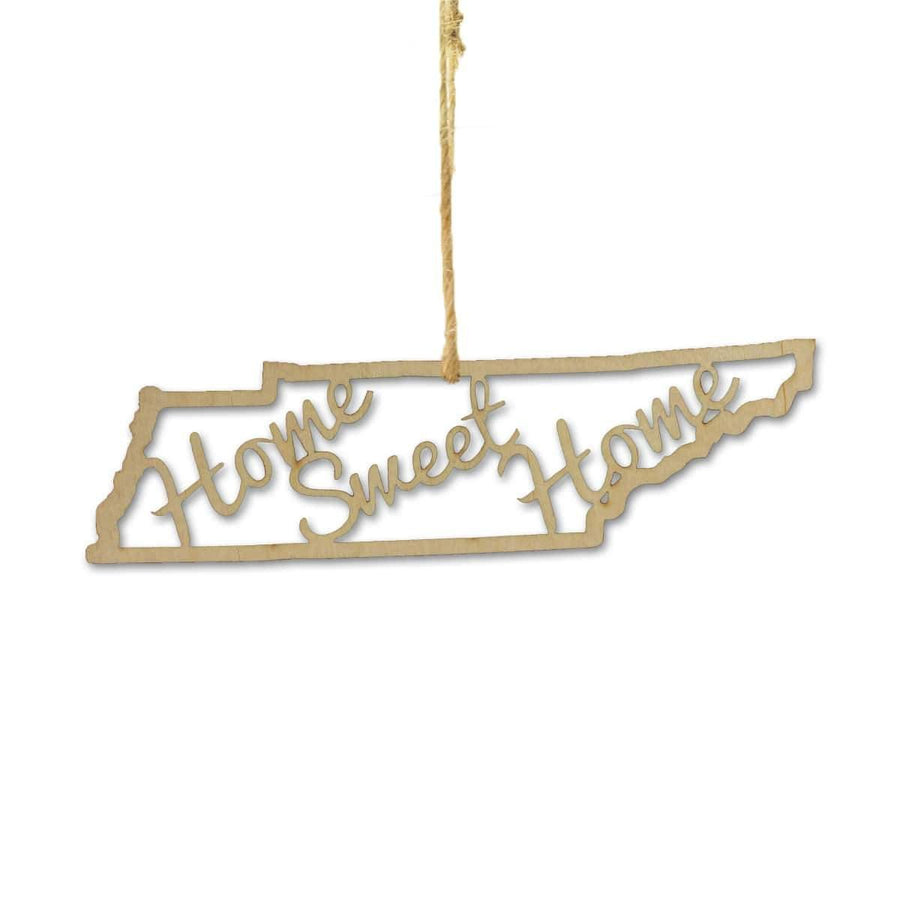 Torched Products Ornaments Tennessee Home Sweet Home Ornaments