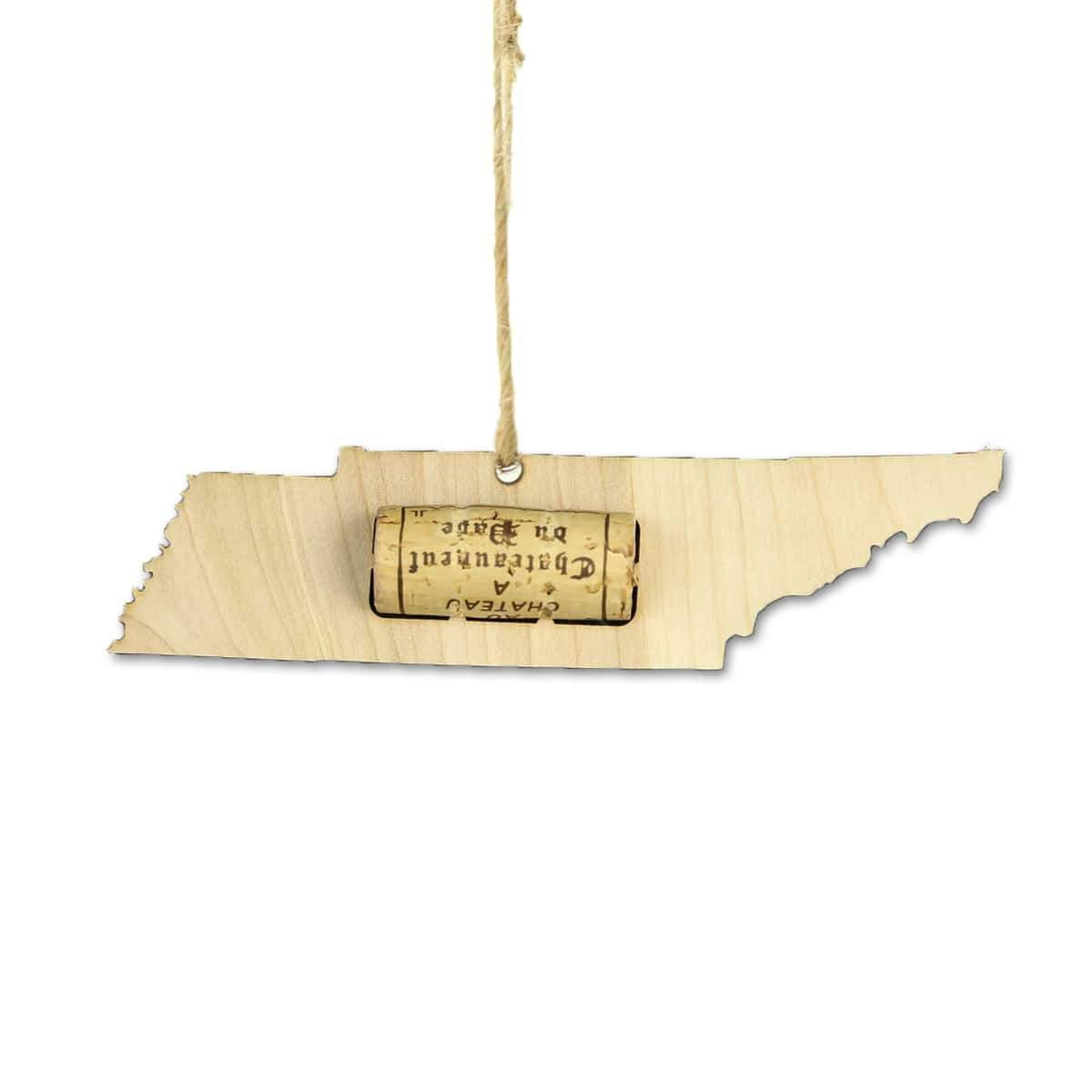 Torched Products Wine Cork Holder Tennessee Wine Cork Holder Ornaments (781205831797)