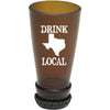 Torched Products Barware Texas Drink Local Beer Bottle Shot Glass