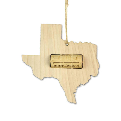 Torched Products Wine Cork Holder Texas Wine Cork Holder Ornaments