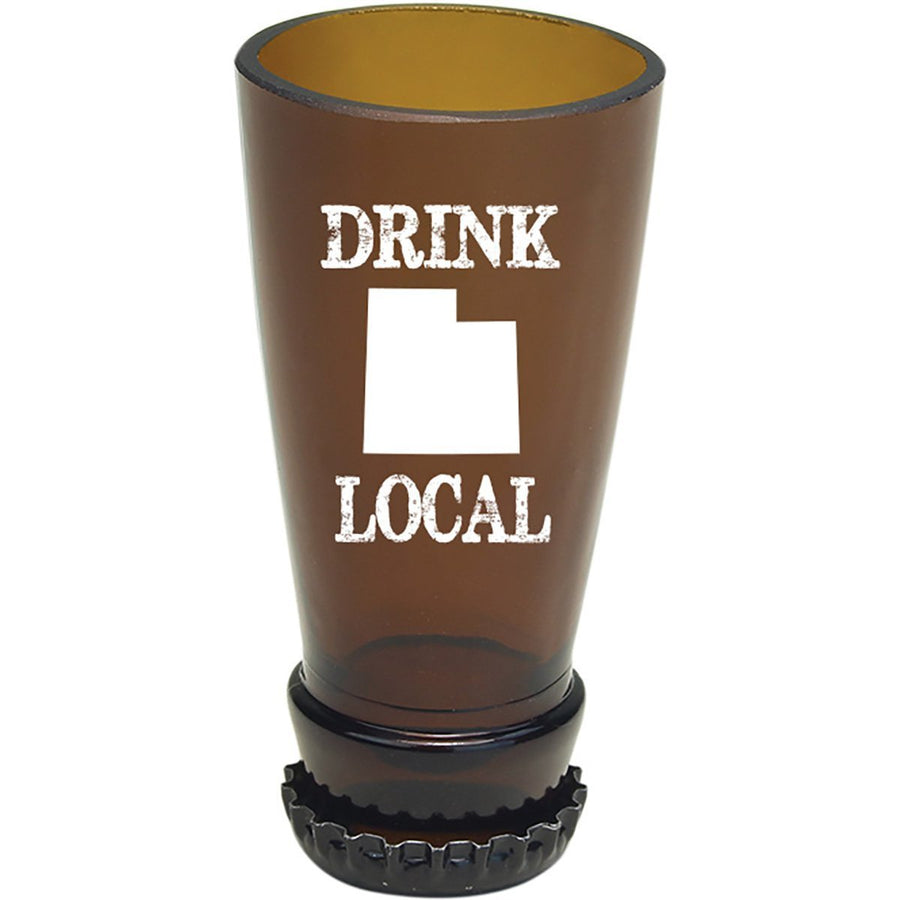 Torched Products Barware Utah Drink Local Beer Bottle Shot Glass (4507016462385)