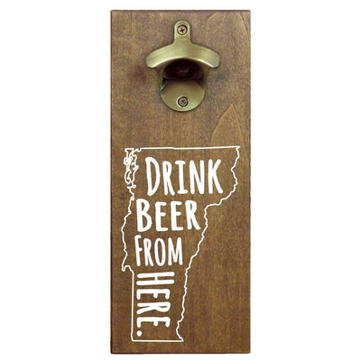 Torched Products Bottle Opener Default Title Vermont Drink Beer From Here Cap Catching Magnetic Bottle Opener