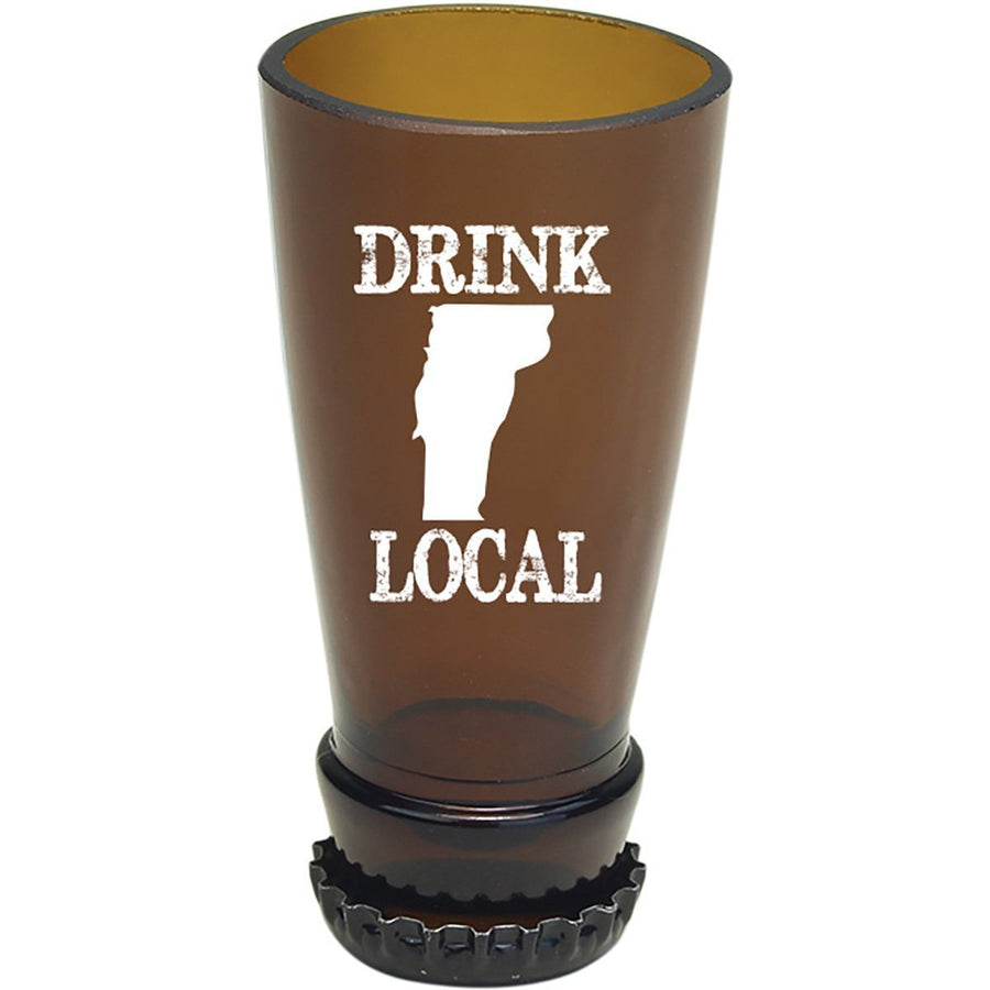 Torched Products Barware Vermont Drink Local Beer Bottle Shot Glass