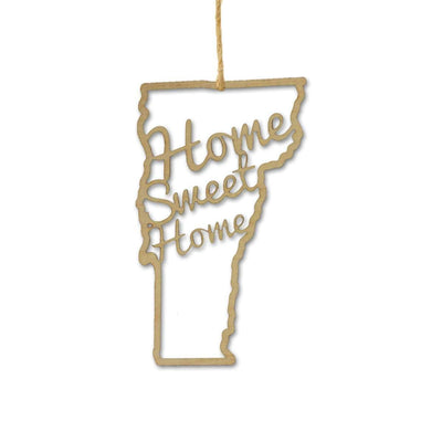 Torched Products Ornaments Vermont Home Sweet Home Ornaments