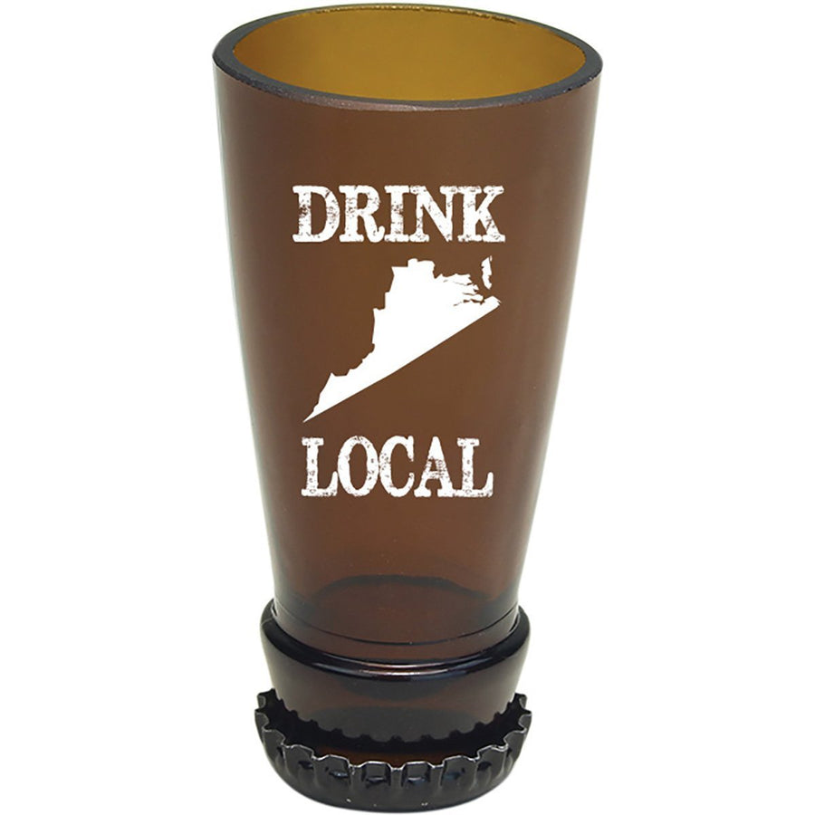 Torched Products Barware Virginia Drink Local Beer Bottle Shot Glass (4507016527921)