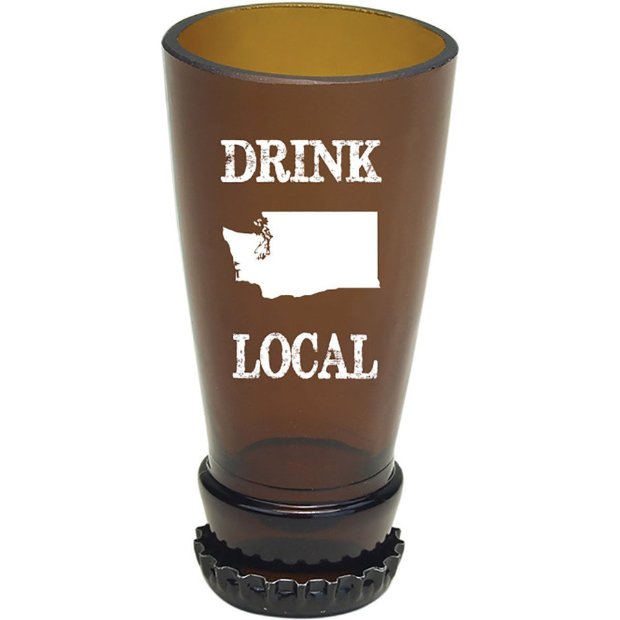 Torched Products Barware Washington Drink Local Beer Bottle Shot Glass
