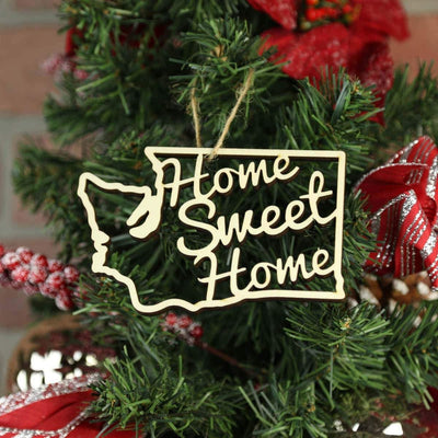 Torched Products Ornaments Washington Home Sweet Home Ornaments (781223821429)