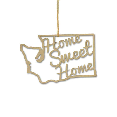 Torched Products Ornaments Washington Home Sweet Home Ornaments