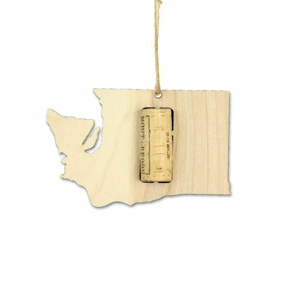 Torched Products Wine Cork Holder Washington Wine Cork Holder Ornaments