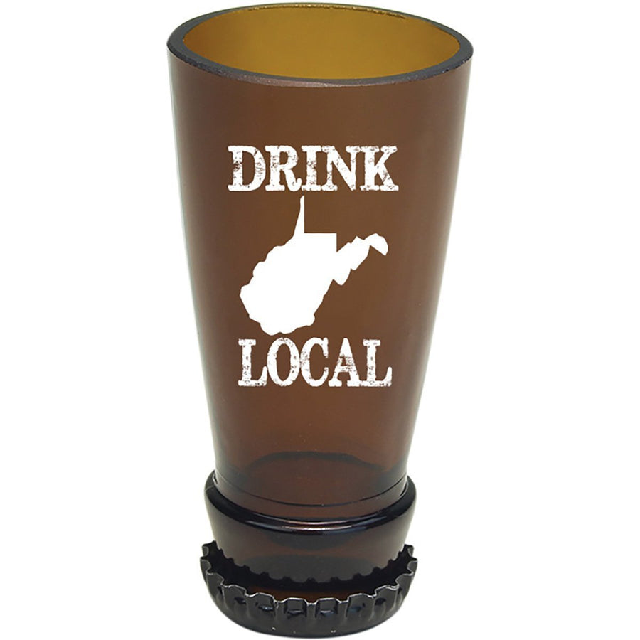 Torched Products Barware West Virginia Drink Local Beer Bottle Shot Glass