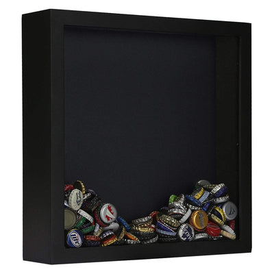 Torched Products Shadow Box Black Wholesale Top Loading Shadow Box – Beer and Cork Collector (778782474357)