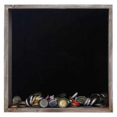 Torched Products Shadow Box Wholesale Top Loading Shadow Box – Beer and Cork Collector (778782474357)