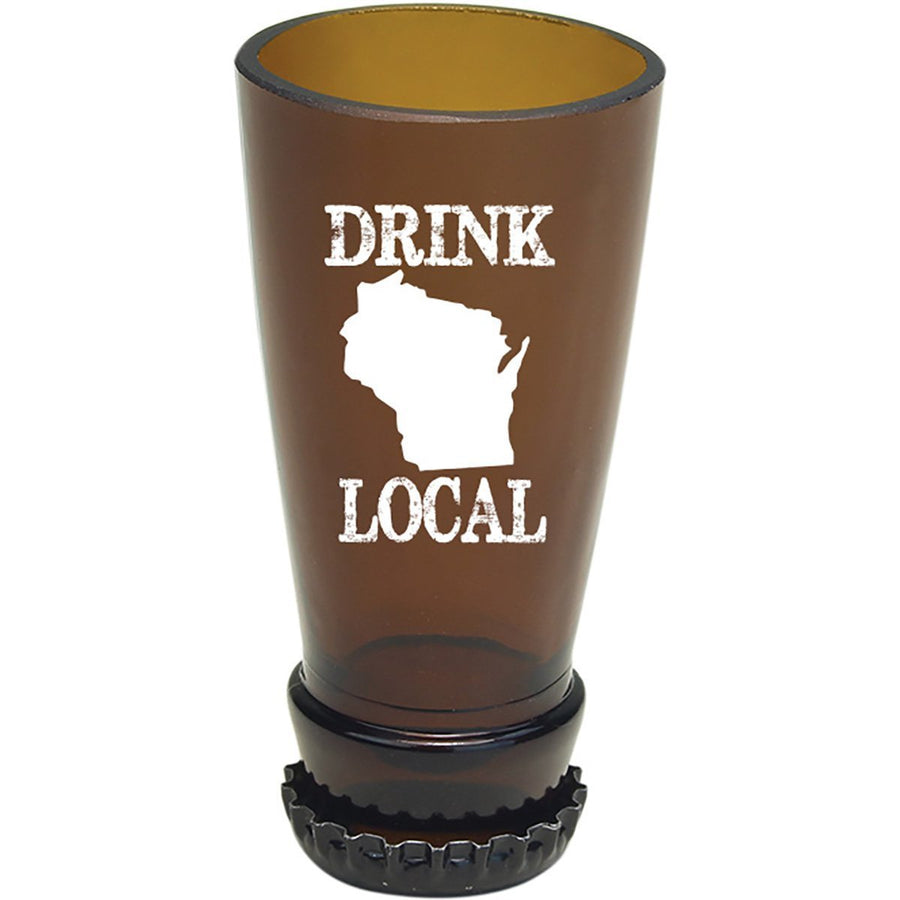 Torched Products Barware Wisconsin Drink Local Beer Bottle Shot Glass