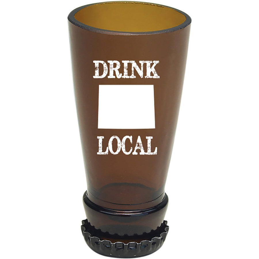 Torched Products Barware Wyoming Drink Local Beer Bottle Shot Glass (4507016691761)