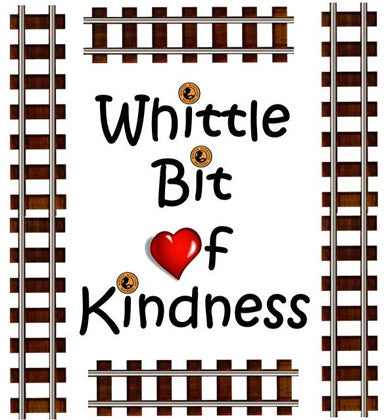 Whittle Shortline Railroad's Whittle Bit of Kindness Programhappily donates toy trains to organizations in need.