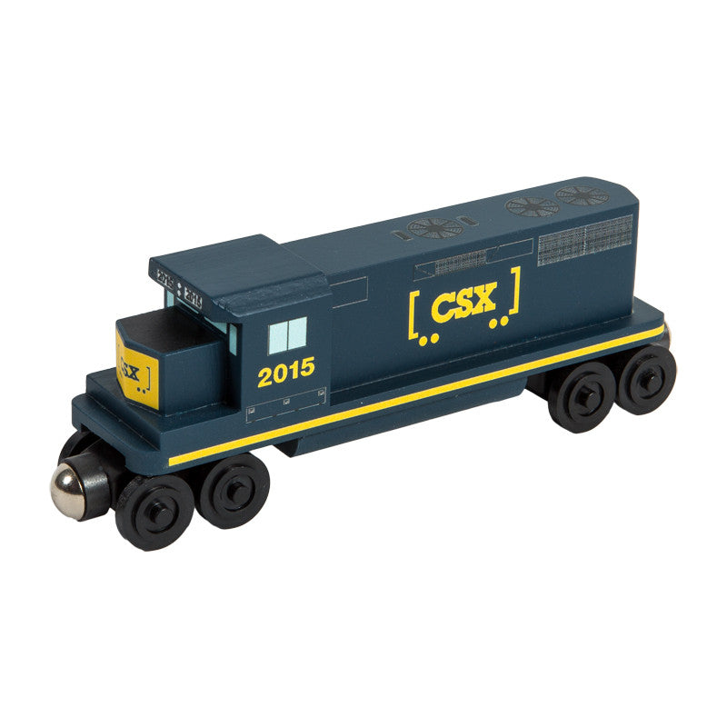 Whittle Shortline Railroad CSX-T GP-38 Diesel Engine Wooden Toy Train