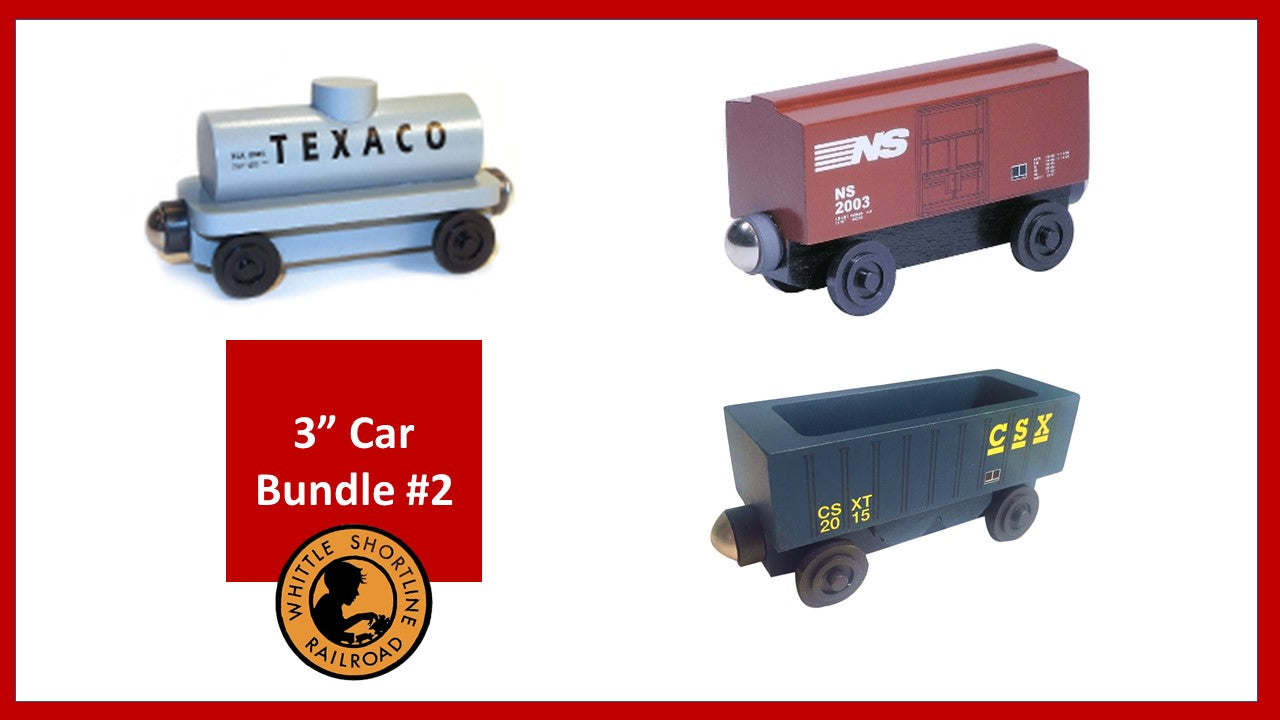 "3"" Freight Car Bundle #2"