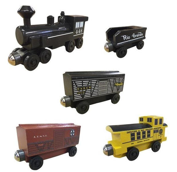 448 Steam Engine Cattle Train Set