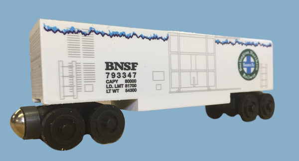 BNSF Mechanical Refrigerator Car