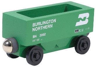 Whittle Shortline Railroad Burlington Northern Hopper Wooden Toy Train