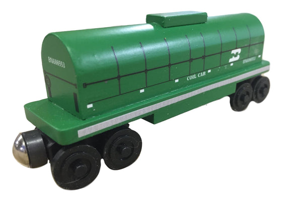 Burlington Northern Green Coil Car